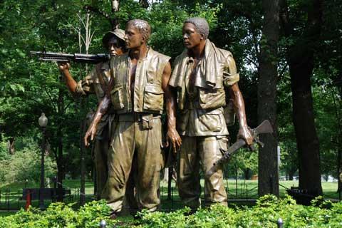 Antique design Bronze Man Statues for Garden Decor