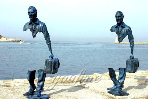 Famous Art Bronze Traveler Sculpture
