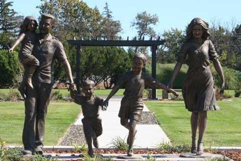 High Quality design Casting Bronze Sculptures for Home & Garden Decor