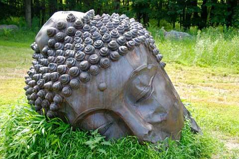 New Designs Artwork Bronze Statue for Garden Decoration on Sale