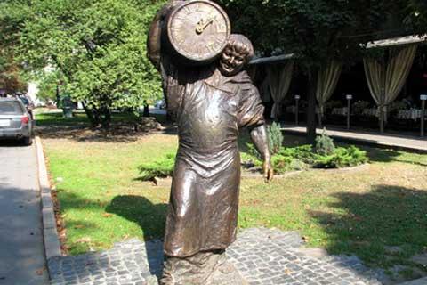 Street outdoor Art Sculpture in Casting Antique Bronze on Sale